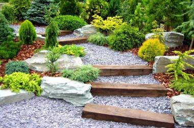 Jardinería con piedras. Ideas prácticas para disfrutar de espacios al aire libre