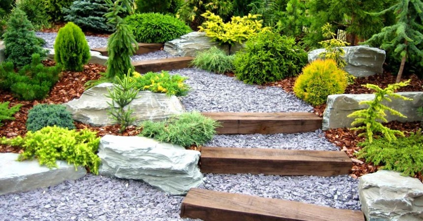 Jardiner a con piedras ideas pr cticas para disfrutar de for Arreglo de jardines con piedras