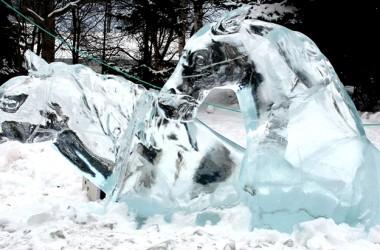 Bellezas del arte en hielo