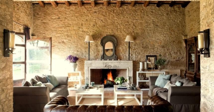 Tendencias para decorar un c lido living confort en for Adornos de decoracion para living