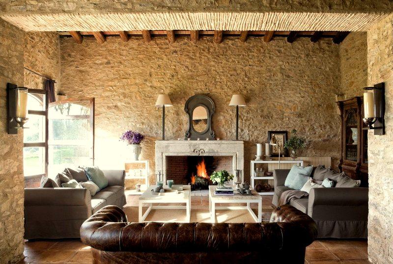 Tendencias para decorar un cálido living. confort en diseños de ...