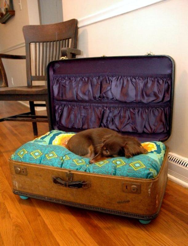 C mo transformar antiguas maletas en tiles muebles - Transformar muebles viejos ...