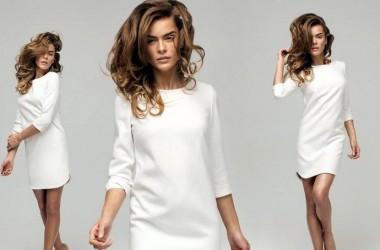 Blanco absoluto en tu outfit para comenzar el año