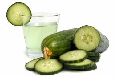 ¿Sabías que el agua de pepino es un poderoso antioxidante?