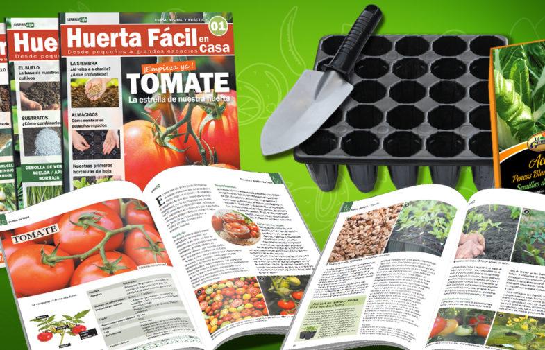 Huerta Fácil en Casa ¡Nuevo curso en fascículos!